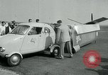 Image of Moulton Taylor Aerocar aerobile Longview Washington USA, 1951, second 31 stock footage video 65675040659