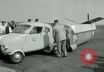 Image of Moulton Taylor Aerocar aerobile Longview Washington USA, 1951, second 32 stock footage video 65675040659
