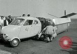Image of Moulton Taylor Aerocar aerobile Longview Washington USA, 1951, second 33 stock footage video 65675040659
