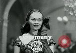 Image of Fashion Show Munich Germany, 1951, second 2 stock footage video 65675040660