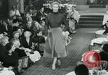Image of Fashion Show Munich Germany, 1951, second 10 stock footage video 65675040660