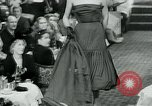Image of Fashion Show Munich Germany, 1951, second 44 stock footage video 65675040660