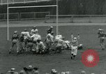 Image of Football match New York City USA, 1951, second 29 stock footage video 65675040662