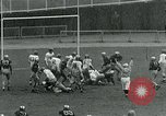 Image of Football match New York City USA, 1951, second 30 stock footage video 65675040662