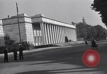 Image of German export exhibition soon after World War 2 Munich Germany, 1946, second 20 stock footage video 65675040664