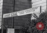 Image of German export exhibition soon after World War 2 Munich Germany, 1946, second 30 stock footage video 65675040664