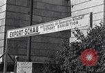 Image of German export exhibition soon after World War 2 Munich Germany, 1946, second 32 stock footage video 65675040664