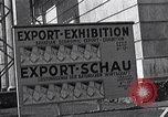 Image of German export exhibition soon after World War 2 Munich Germany, 1946, second 36 stock footage video 65675040664