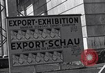 Image of German export exhibition soon after World War 2 Munich Germany, 1946, second 40 stock footage video 65675040664