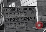 Image of German export exhibition soon after World War 2 Munich Germany, 1946, second 41 stock footage video 65675040664