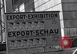 Image of German export exhibition soon after World War 2 Munich Germany, 1946, second 42 stock footage video 65675040664