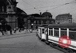Image of Frankfurt Central Station one year after World War 2 Frankfurt Germany, 1946, second 6 stock footage video 65675040670