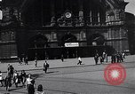 Image of Frankfurt Central Station one year after World War 2 Frankfurt Germany, 1946, second 21 stock footage video 65675040670