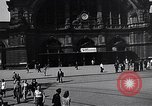 Image of Frankfurt Central Station one year after World War 2 Frankfurt Germany, 1946, second 22 stock footage video 65675040670