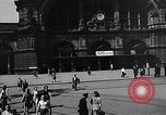 Image of Frankfurt Central Station one year after World War 2 Frankfurt Germany, 1946, second 23 stock footage video 65675040670