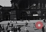 Image of Frankfurt Central Station one year after World War 2 Frankfurt Germany, 1946, second 26 stock footage video 65675040670