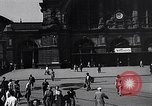 Image of Frankfurt Central Station one year after World War 2 Frankfurt Germany, 1946, second 27 stock footage video 65675040670