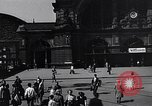 Image of Frankfurt Central Station one year after World War 2 Frankfurt Germany, 1946, second 29 stock footage video 65675040670