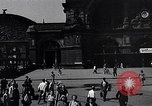 Image of Frankfurt Central Station one year after World War 2 Frankfurt Germany, 1946, second 31 stock footage video 65675040670