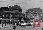 Image of Frankfurt Central Station one year after World War 2 Frankfurt Germany, 1946, second 45 stock footage video 65675040670