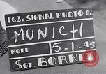 Image of German prisoners of war marched in Munich Munich Germany, 1945, second 1 stock footage video 65675040676