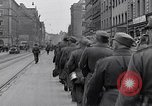Image of German prisoners of war marched in Munich Munich Germany, 1945, second 5 stock footage video 65675040676