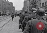 Image of German prisoners of war marched in Munich Munich Germany, 1945, second 11 stock footage video 65675040676