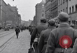 Image of German prisoners of war marched in Munich Munich Germany, 1945, second 13 stock footage video 65675040676