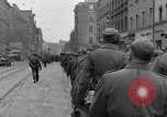 Image of German prisoners of war marched in Munich Munich Germany, 1945, second 15 stock footage video 65675040676