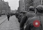 Image of German prisoners of war marched in Munich Munich Germany, 1945, second 16 stock footage video 65675040676