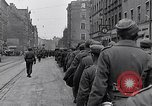 Image of German prisoners of war marched in Munich Munich Germany, 1945, second 17 stock footage video 65675040676
