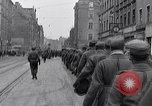 Image of German prisoners of war marched in Munich Munich Germany, 1945, second 19 stock footage video 65675040676