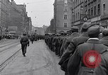 Image of German prisoners of war marched in Munich Munich Germany, 1945, second 20 stock footage video 65675040676