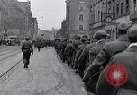 Image of German prisoners of war marched in Munich Munich Germany, 1945, second 21 stock footage video 65675040676