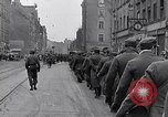 Image of German prisoners of war marched in Munich Munich Germany, 1945, second 22 stock footage video 65675040676