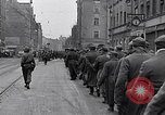 Image of German prisoners of war marched in Munich Munich Germany, 1945, second 23 stock footage video 65675040676