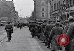 Image of German prisoners of war marched in Munich Munich Germany, 1945, second 25 stock footage video 65675040676