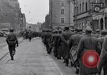 Image of German prisoners of war marched in Munich Munich Germany, 1945, second 26 stock footage video 65675040676