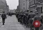 Image of German prisoners of war marched in Munich Munich Germany, 1945, second 27 stock footage video 65675040676