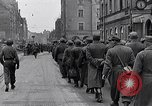 Image of German prisoners of war marched in Munich Munich Germany, 1945, second 28 stock footage video 65675040676