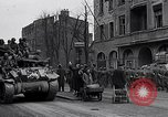 Image of German prisoners of war marched in Munich Munich Germany, 1945, second 32 stock footage video 65675040676