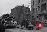 Image of German prisoners of war marched in Munich Munich Germany, 1945, second 41 stock footage video 65675040676