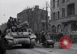 Image of German prisoners of war marched in Munich Munich Germany, 1945, second 42 stock footage video 65675040676