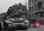 Image of German prisoners of war marched in Munich Munich Germany, 1945, second 43 stock footage video 65675040676