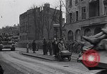 Image of German prisoners of war marched in Munich Munich Germany, 1945, second 47 stock footage video 65675040676
