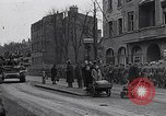 Image of German prisoners of war marched in Munich Munich Germany, 1945, second 48 stock footage video 65675040676