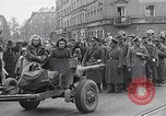 Image of German prisoners of war marched in Munich Munich Germany, 1945, second 49 stock footage video 65675040676