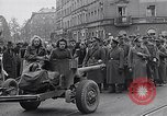 Image of German prisoners of war marched in Munich Munich Germany, 1945, second 50 stock footage video 65675040676