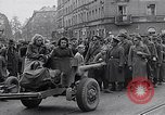 Image of German prisoners of war marched in Munich Munich Germany, 1945, second 52 stock footage video 65675040676