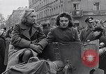 Image of German prisoners of war marched in Munich Munich Germany, 1945, second 55 stock footage video 65675040676